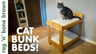 Making Cat Or Dog Bunk Beds