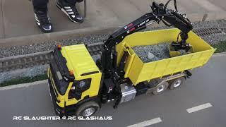 RC Dozer T 100 / RC Truck with Crane IVECO, MAN, Mercedes Benz Super mashienes
