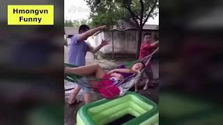 Hmong Best funny - Try not laugh   Hmoob funny  Xav luag tag tag li nawb