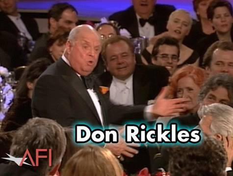 Don Rickles vzdává hold Martinovi Scorsesemu