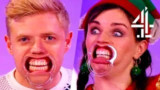 Rob Beckett & Aisling Bea Play Hilarious Game Of 'Speak Out' | 8 Out Of 10 Cats Christmas Special