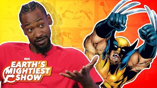 Terrence Ross tells us about his favorite Marvel heroes and villains! | Earth