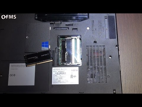 Come sostituire-aumentare RAM in un portatile (notebook Fujitsu, HyperX Impact) [FMS risponde #6]