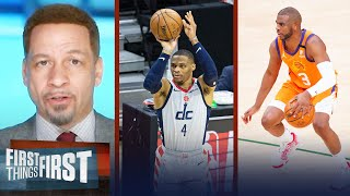 Chris Paul or Russell Westbrook? Broussard on who's a better fit for Lakers | FIRST THINGS FIRST
