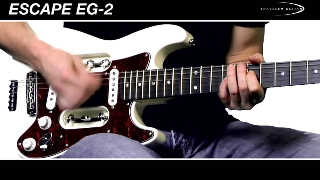 Traveler Guitar EG-2 Electric Guitar Overview and Demo
