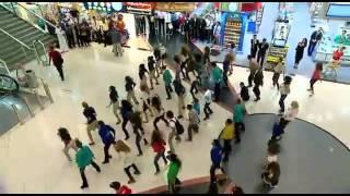 Смотреть онлайн Классный флешмоб: Сертаки в аэропорту