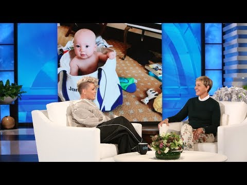 P!nk Opens Up About Her Resilient Daughter & Breastfeeding Her Son