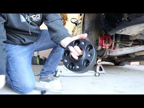 Wheel Spacers - Chrysler Crossfire