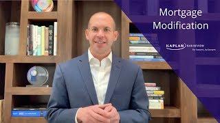 Mortgage Modification Explained