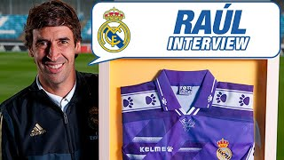Raúl EXCLUSIVE interview | 25 years after Real Madrid debut