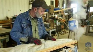 How to steam bend wooden boat frames