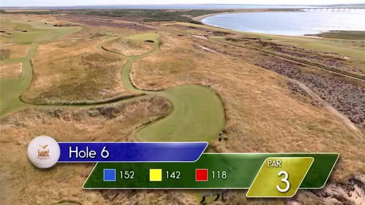 Carnegie Links Hole 6 - YouTube video