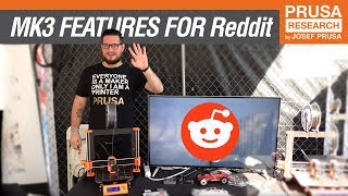 MK3 features for Reddit/r/3Dprinting