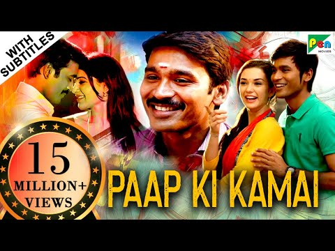 Paap Ki Kamai (HD) Full Hindi Dubbed Movie | Thanga Magan | Dhanush, Samantha, Amy Jackson