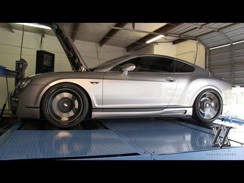 Custom Bentley Continental GT Dyno