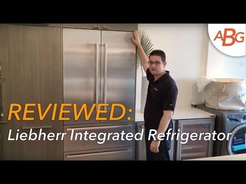 Liebherr French Door Refrigerator Review – 36″ Integrated, Like Sub-Zero IT-36CIID