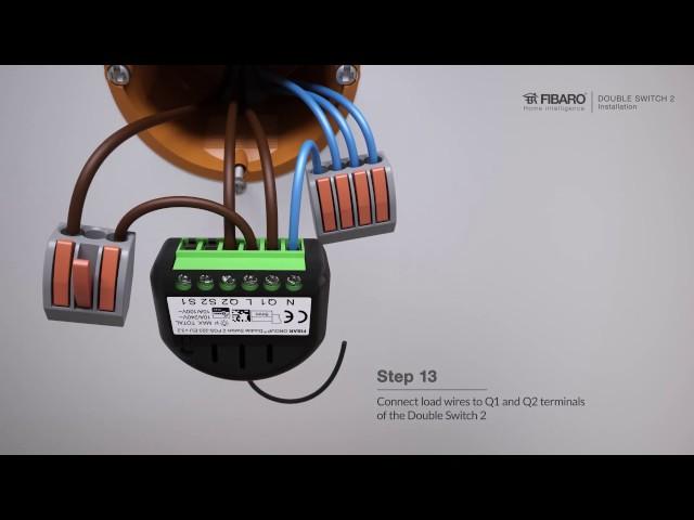 FIBARO FGS-223 DOUBLE SWITCH 2 IN WALL Z-WAVE CONTROLLER | eBay