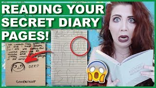 Reading YOUR Secret Diary Pages