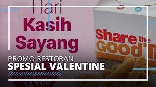 Restoran Cepat Saji yang Berikan Promo Hari Valentine 2020, Dinner Romantis Makin Terjangkau