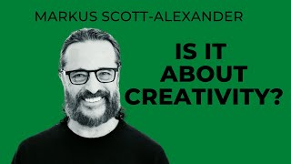 Is it about creativity?