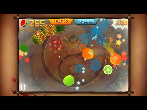 Fruit Ninja Free wideo