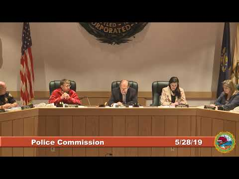 Police Commission 5.28.2019