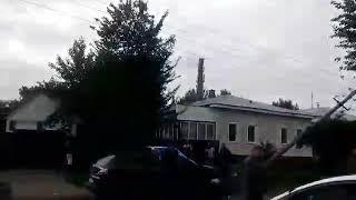 ДТП Прилуки, син мера зніс стовпа і ображав людей!!!