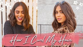 HOW TO DO LOOSE WAVY CURLS // How I Style My Short Hair (Jessica Neistadt) ♡
