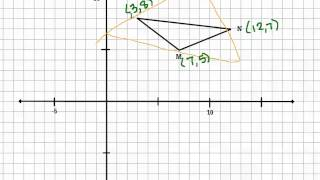 Given Midpoints Find The Vertices (Midsegment Investigation)