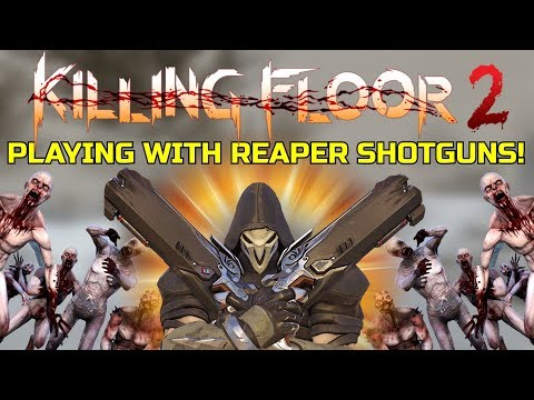 Killing Floor 2 | PLAYING WITH THE REAPER SHOTGUN! - Kf 1 Manor Snow Map!