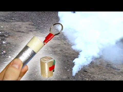 Rauchbombe selber bauen aus Haushaltsmitteln    OHNE KNO3 oder Tischtennisbälle! [HD]