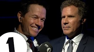 Will Ferrell & Mark Wahlberg Insult Each Other | CONTAINS STRONG LANGUAGE!