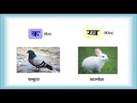 हिन्दी वर्णमाला- व्यंजन | Hindi Alphabets with Pronunciation & Pictures