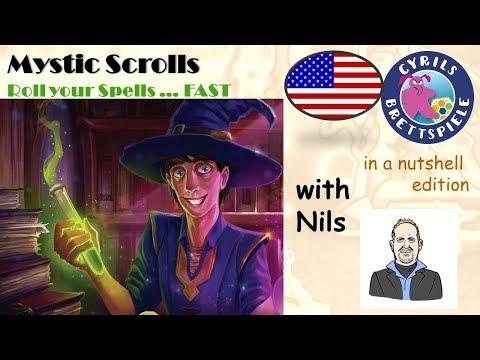 Mystic ScROLLS - Keep rollin`baby - Cyrils Brettspiele in a nutshell (N119)