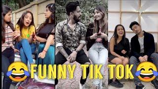 😂Funny couple 💑 tik tok video || Neha kakkar, Parul , sunny Chopra ||
