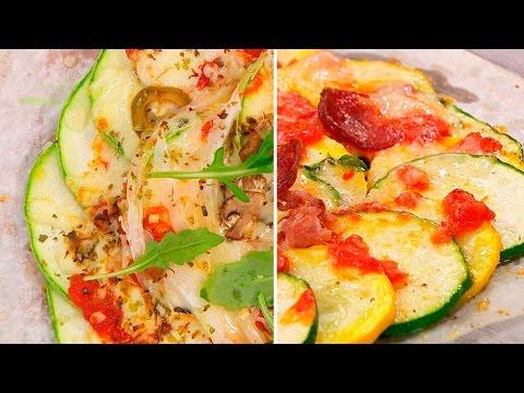 Receta de PIZZA de CALABACÍN y CHORIZO |  VEGEPIZZA