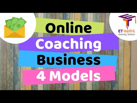 Online Coaching Business Model, Investment and Requirements to ...