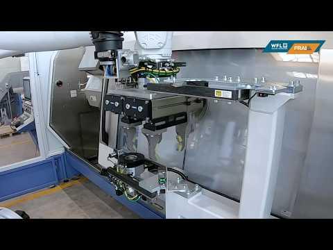 WFL Robotic Technologies - Fliegende Vermessung mittels Robotertechnik in der M30-G MILLTURN