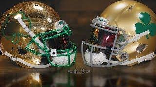 Notre Dame Gold For Your Helmet?