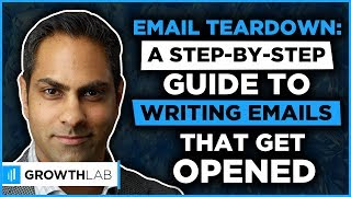 How To Write Emails That Get Opened With Ramit Sethi