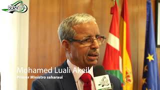 Declaración del primer ministro Saharaui Mohamed  Luali Akeik