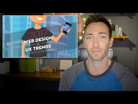 2017 Web Design Trends to Boost Conversions