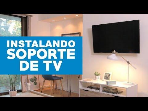 Cómo instalar soportes TV