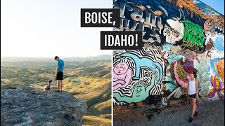 Exploring Boise, Idaho: Basque Food, Ice Cream, & Things To Do!