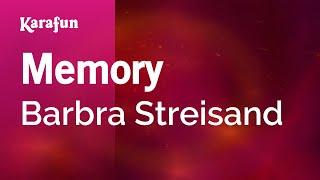 Karaoke Memory - Barbra Streisand *