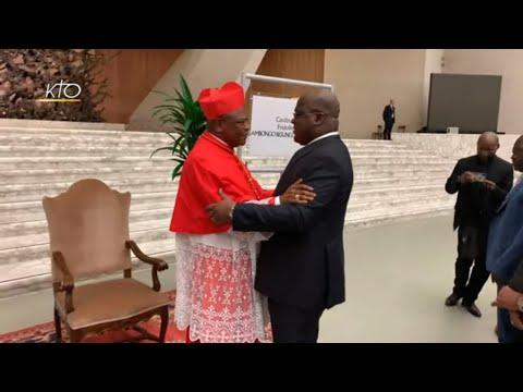 Vivre le consistoire avec le cardinal Ambongo Besungu