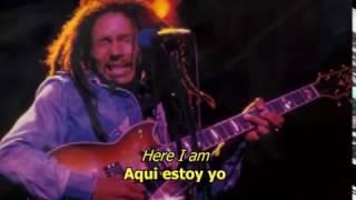Sun is shinning - Bob Marley (LYRICS/LETRA) (Reggae)