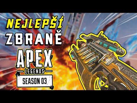 Top 10 Nejlepších Zbraní v 3. Sezóně APEX LEGENDS!