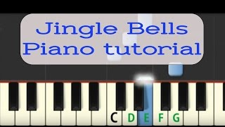 Easy Piano Tutorial: Jingle Bells with free sheet music