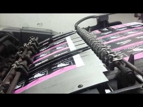 maquina imprenta offset heildeberg kord 62